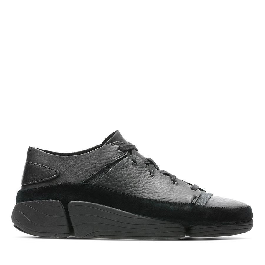 Clarks Trigenic Evo Mens Black Leather