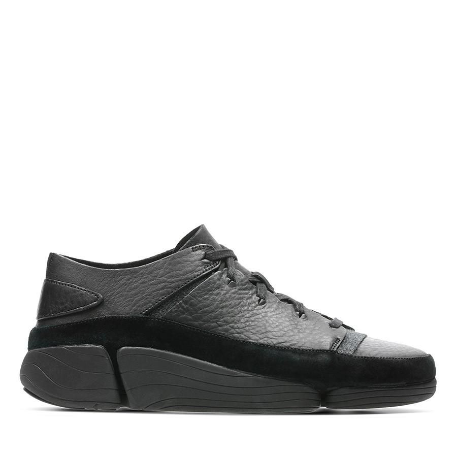 Clarks Trigenic Evo Mens Black Leather