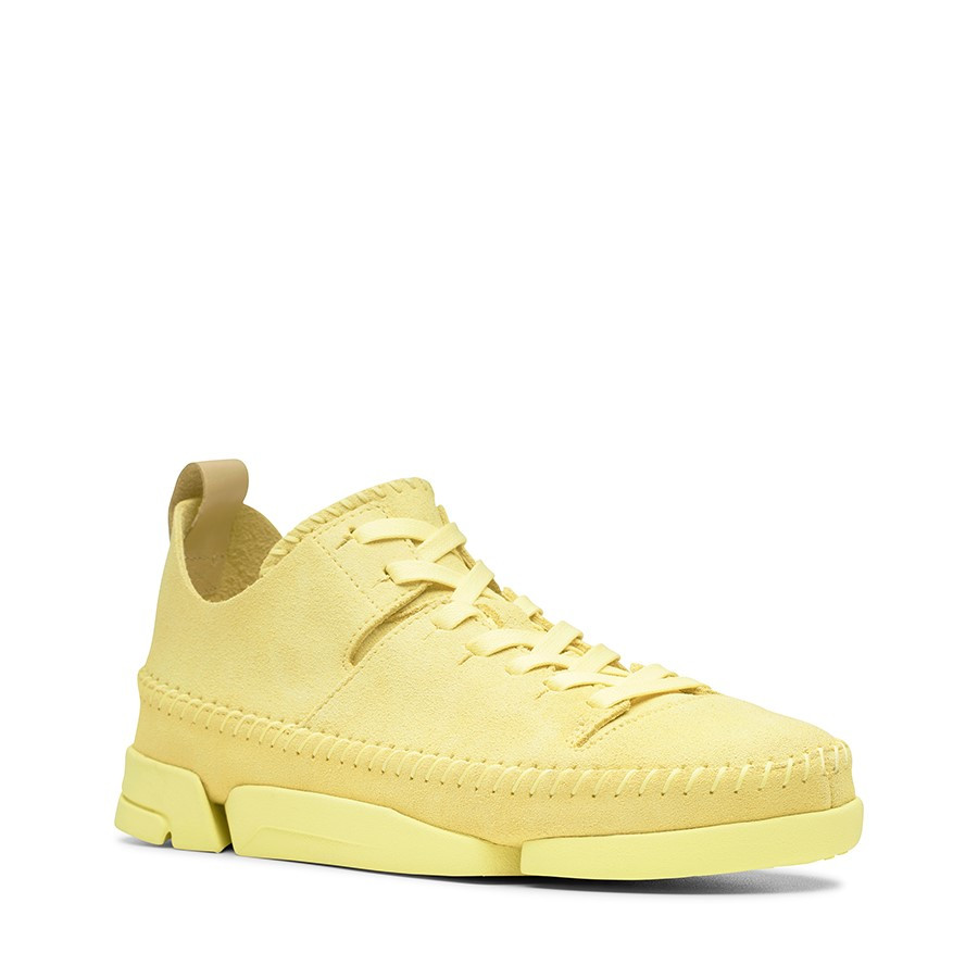 Clarks Trigenic Flex Womens Pale Yellow