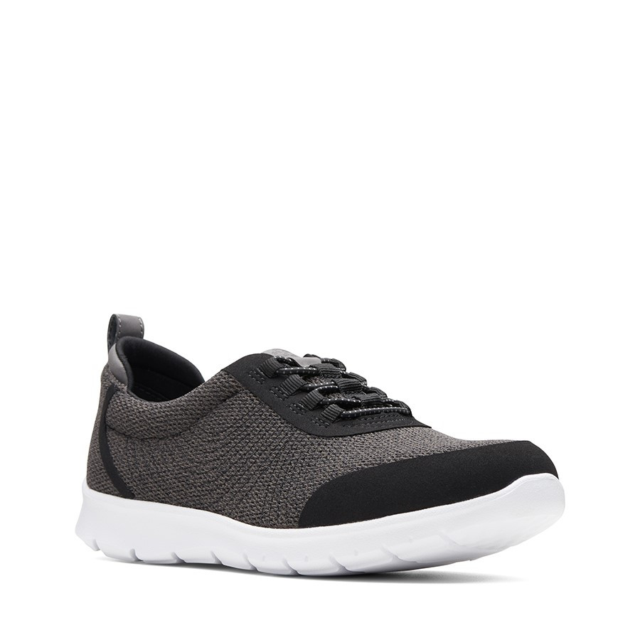 Clarks Step Allena Bay Dark Grey