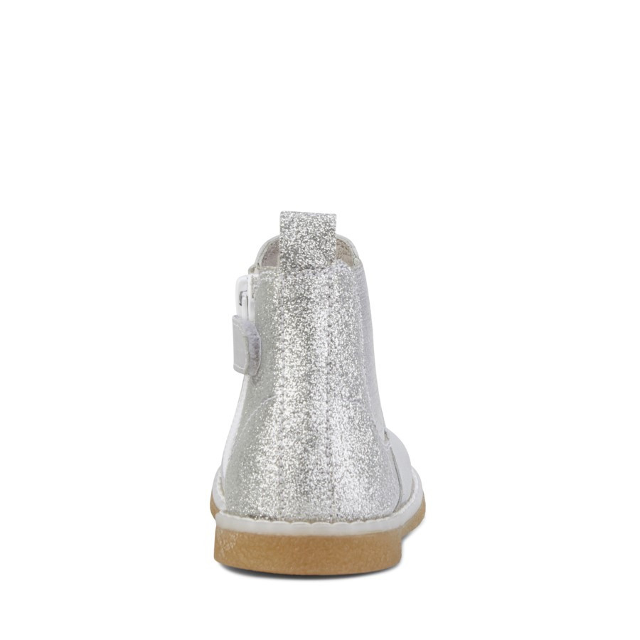 Clarks Chelsea Inf Silver Glitter