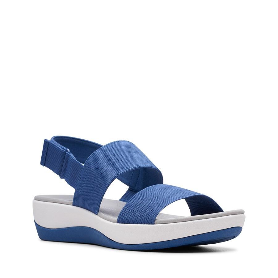 Clarks Arla Jacory Blue Elastic