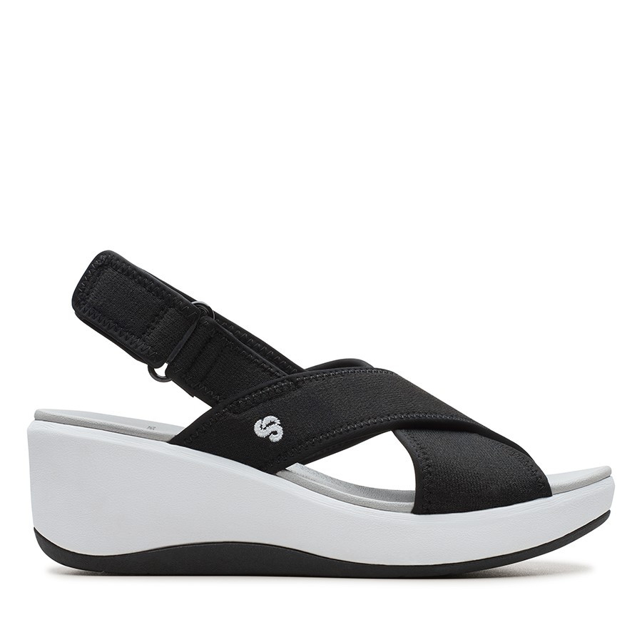 Clarks Step Cali Cove Black