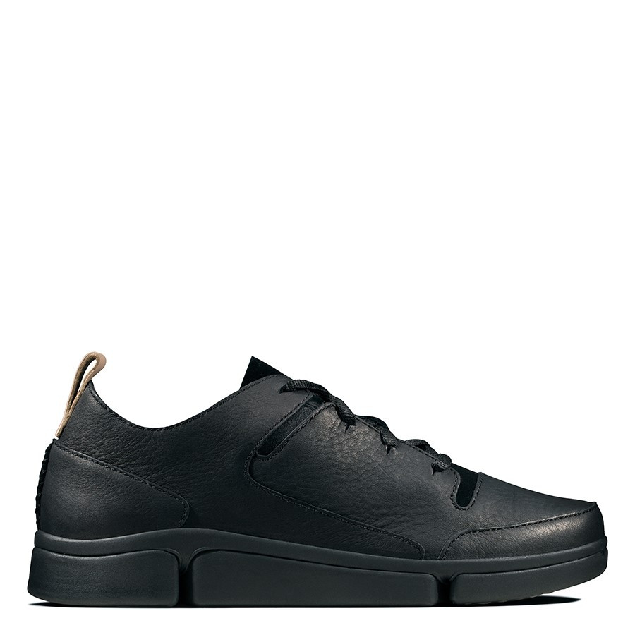 Clarks Tri Turn Black Combo Leather