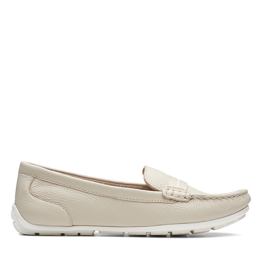 Clarks Dameo Vine Ivory Leather