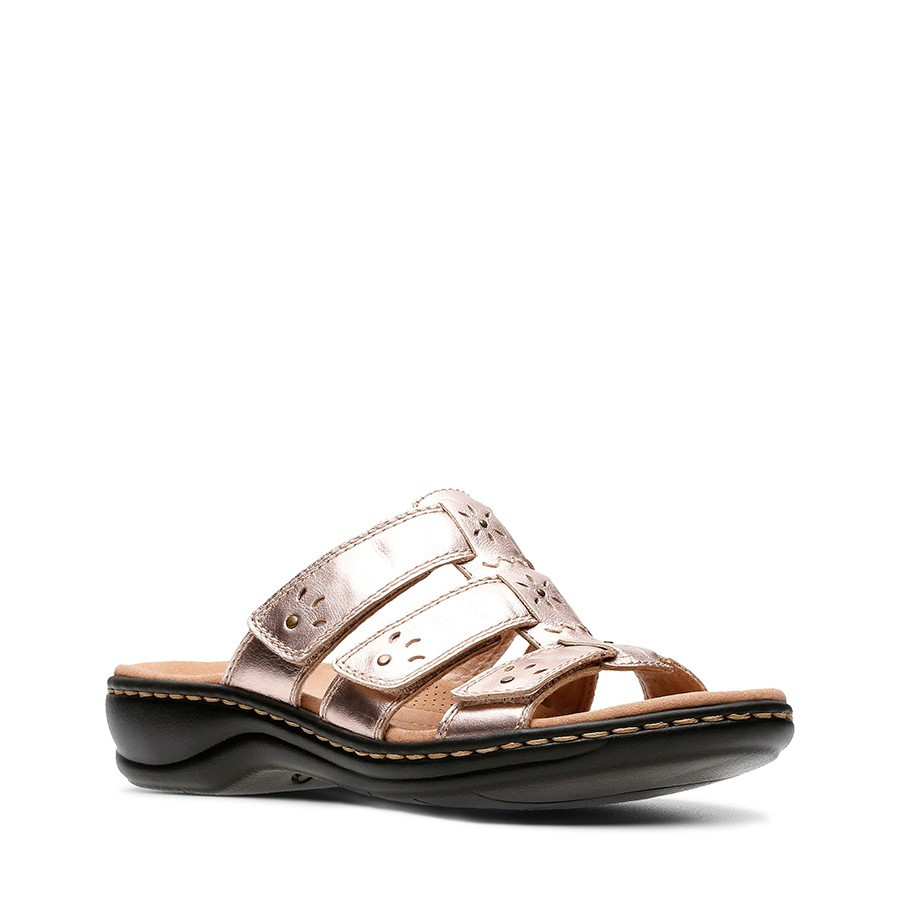 Clarks Leisa Spring Rose Gold Leather