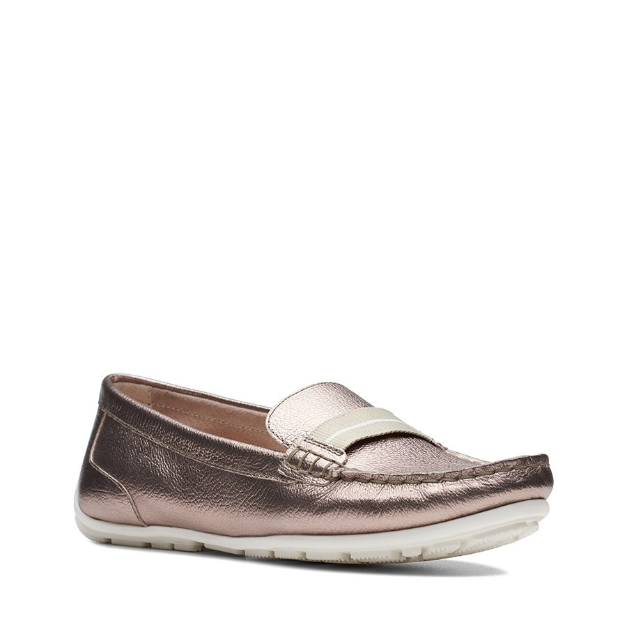 Clarks Dameo Vine Gold Metallic