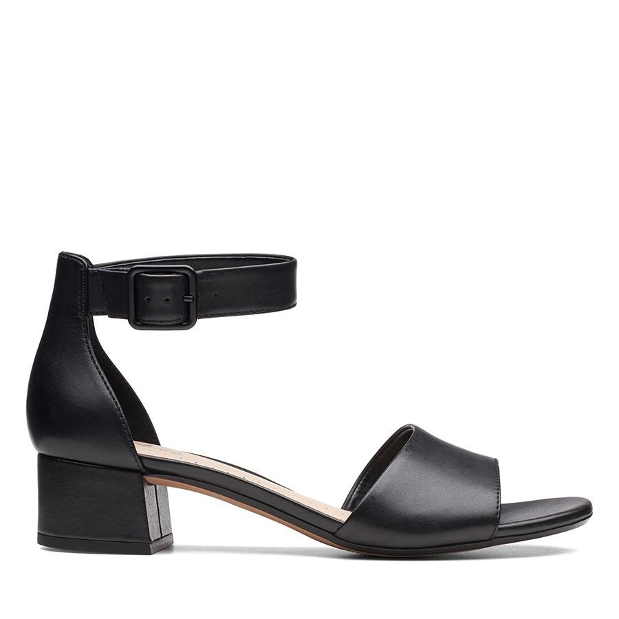 Clarks Elisa Dedra Black Leather