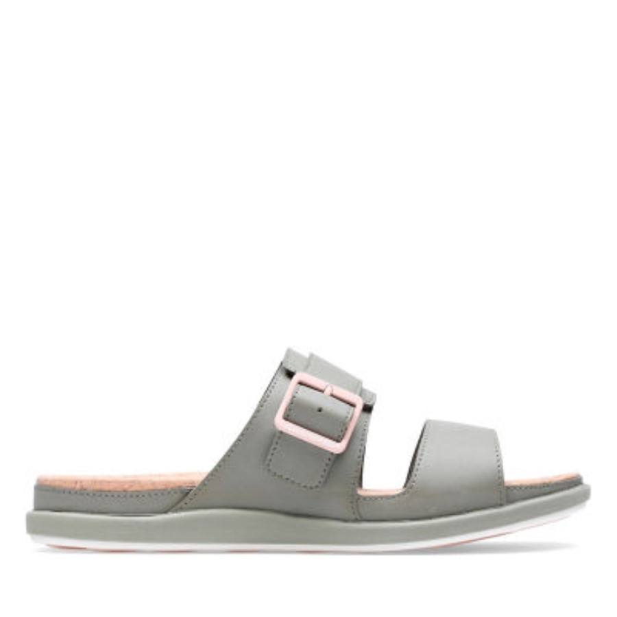 Clarks Step June Tide Dusty Olive