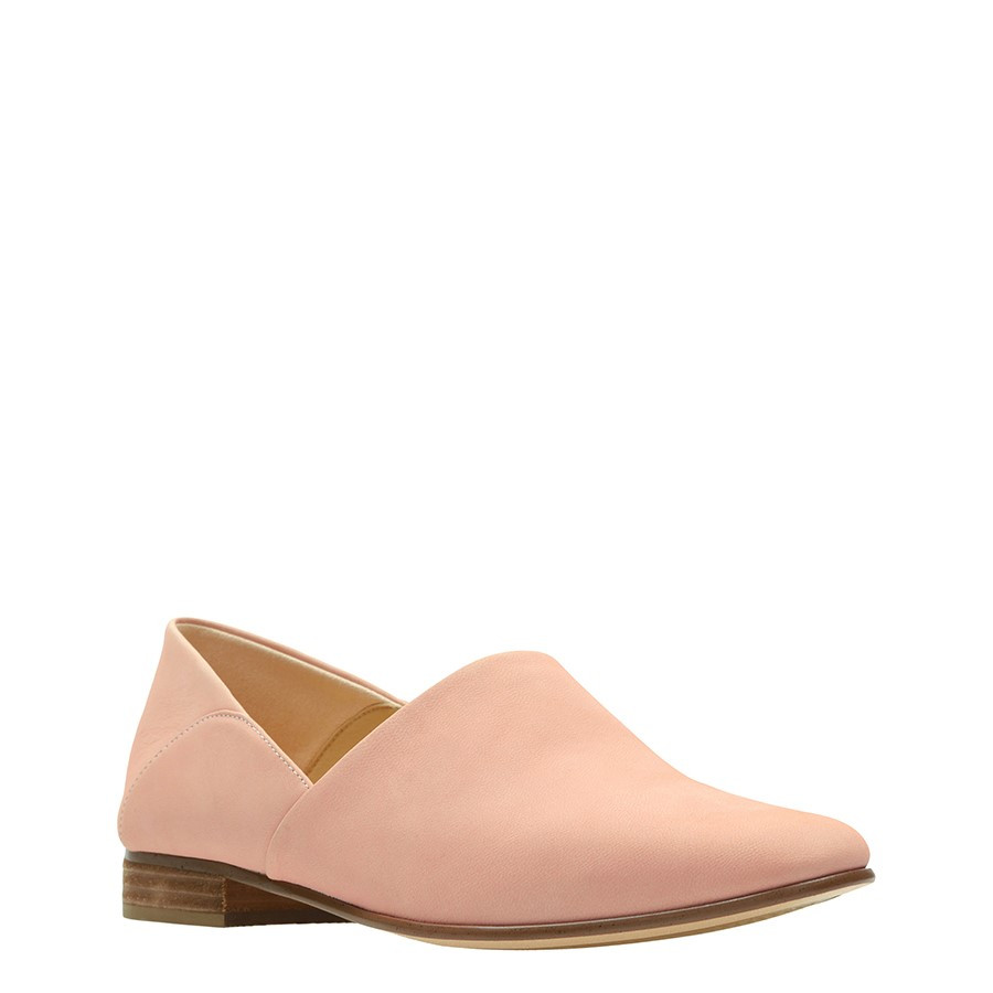 Clarks Pure Tone Light Pink Nubuck