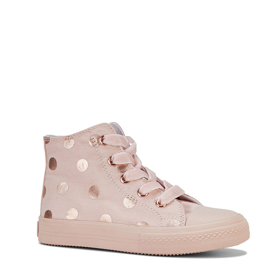 Clarks Lacey Pink/Rose Gold