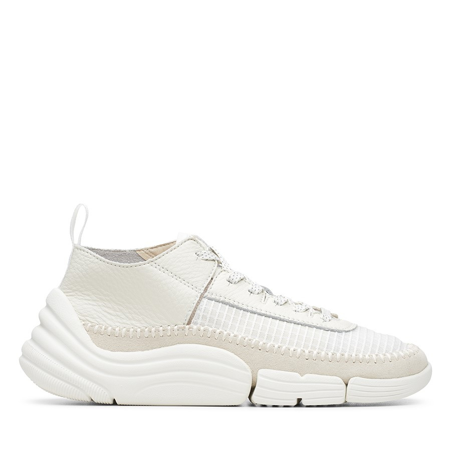Clarks Trigenic Rev Mens White