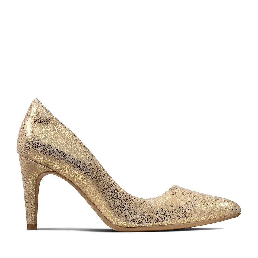 Clarks Laina Rae Gold Metallic