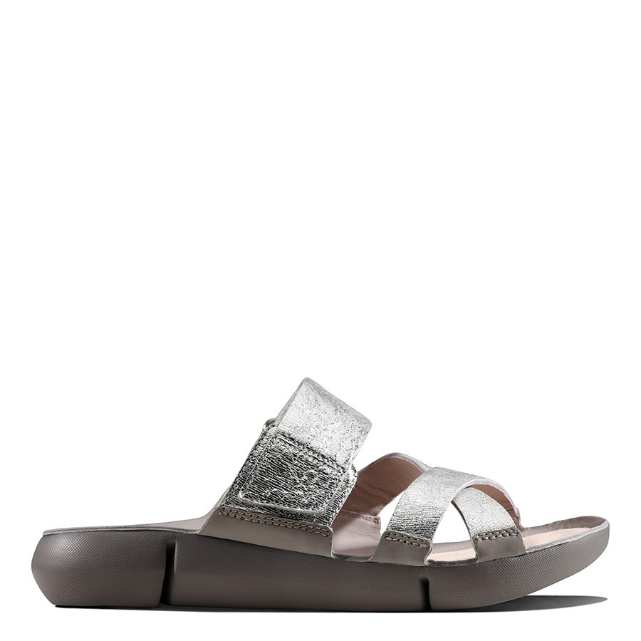 Clarks Tri Primrose Silver Metallic