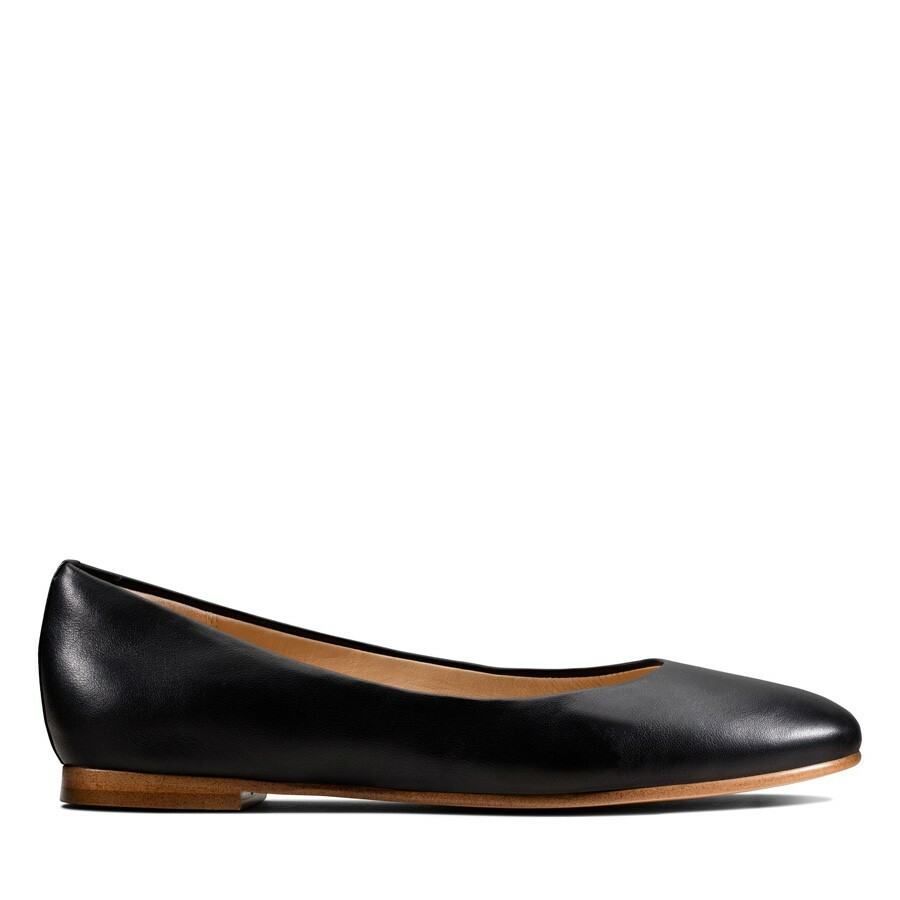 Clarks Grace Piper Black Leather
