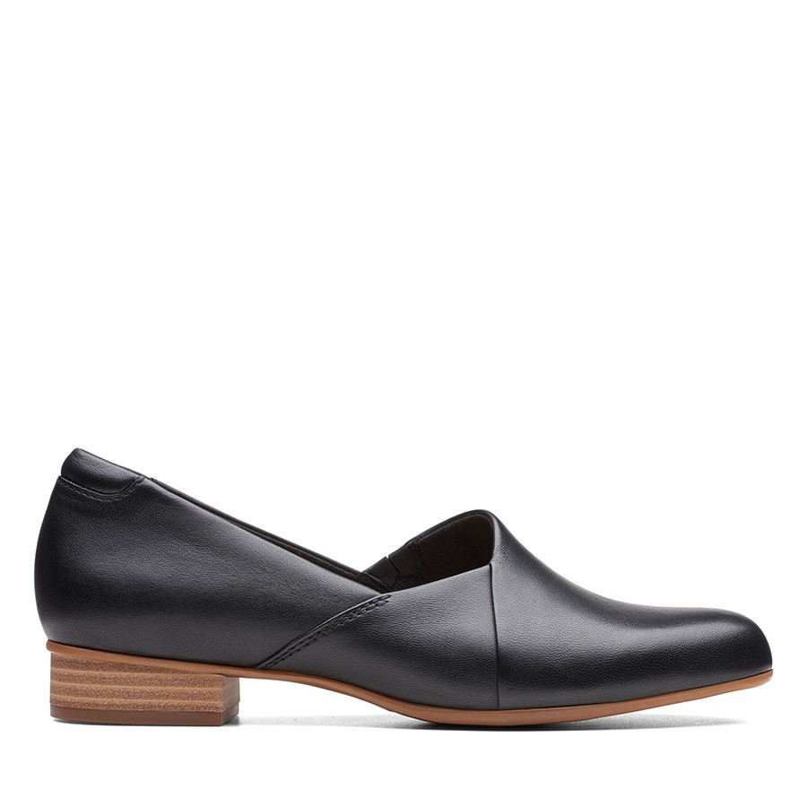 Clarks Juliet Palm Black Leather