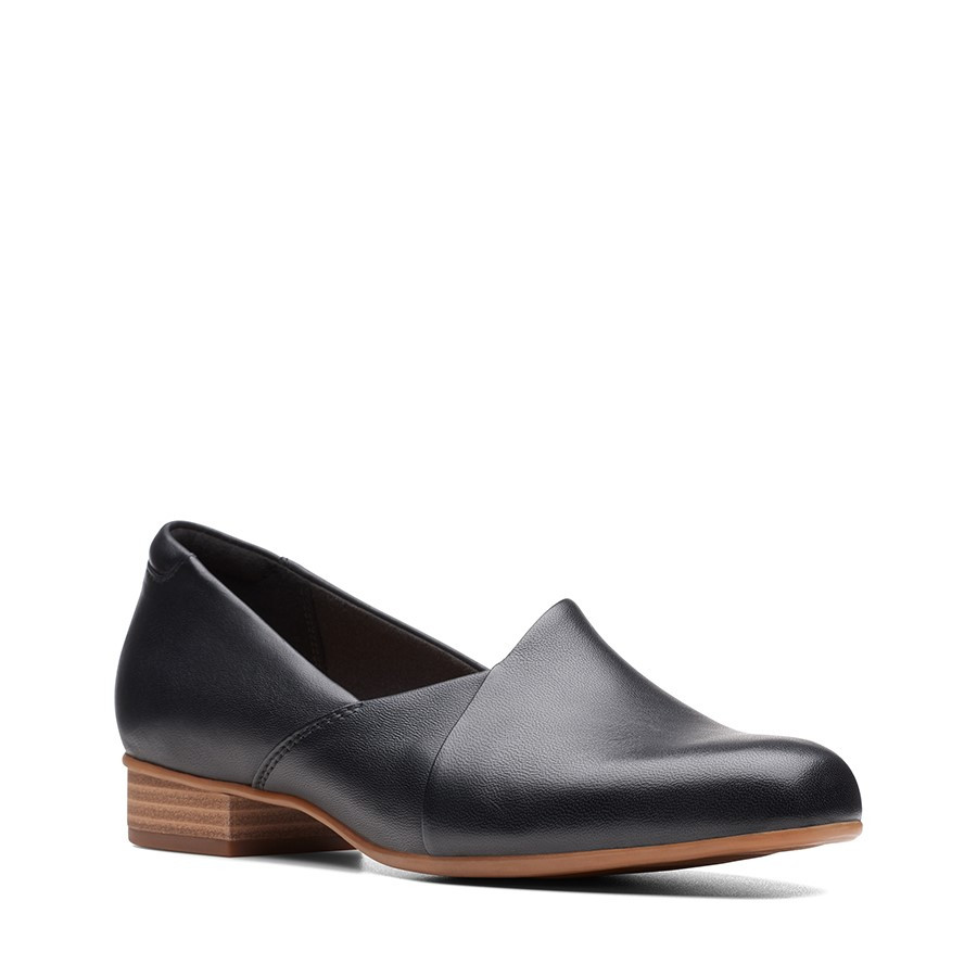 Clarks Juliet Palm Black Leather