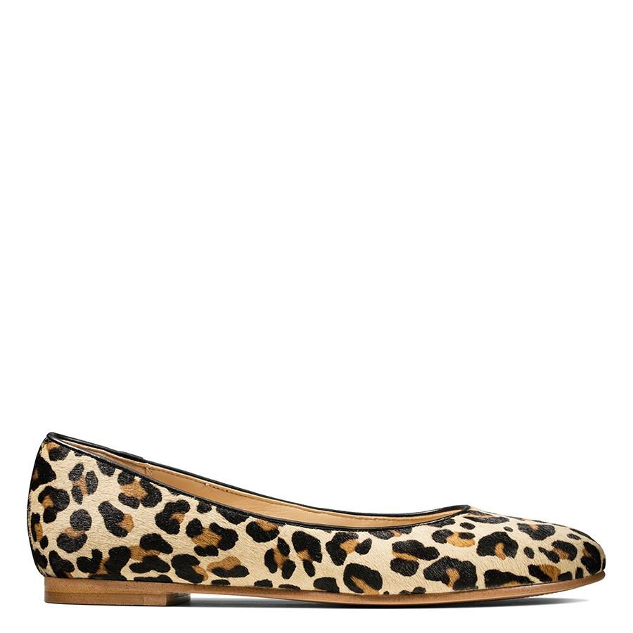 Clarks Grace Piper Leopard Print