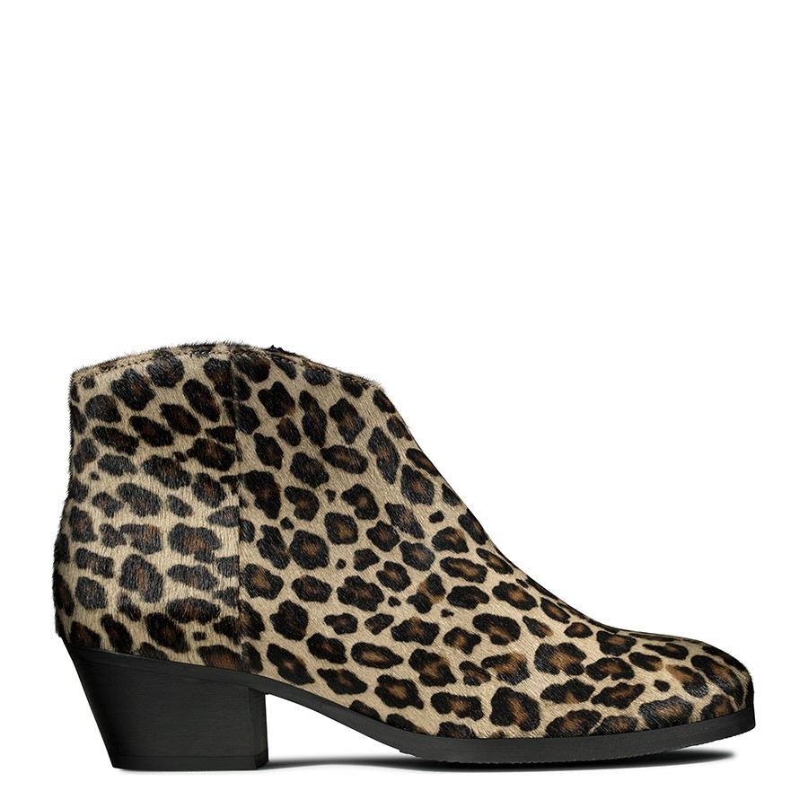 Clarks Mila Myth Leopard Print