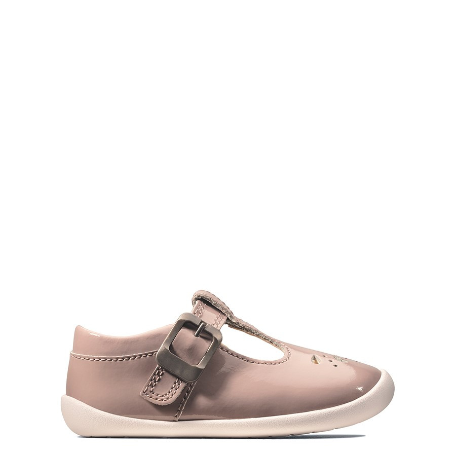 Clarks Roamer Star T Pink Patent