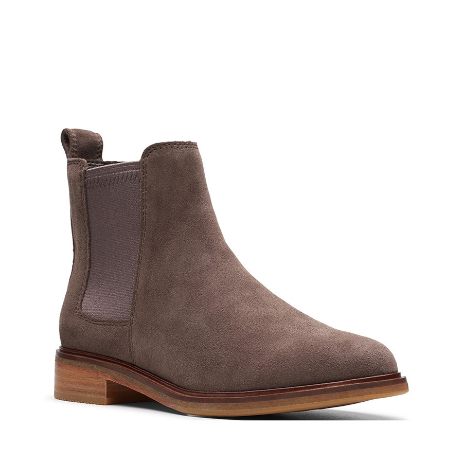 Clarks Clarkdale Arlo Taupe Suede