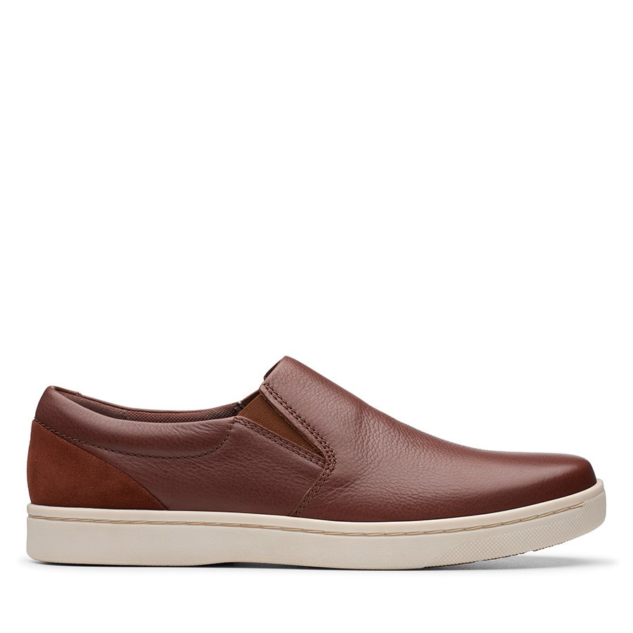 Clarks Kitna Free Mahogany Leather