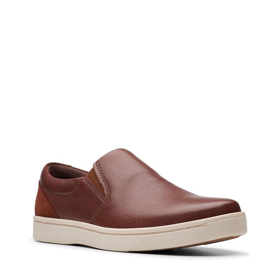 Clarks Kitna Free Mahogany Leather
