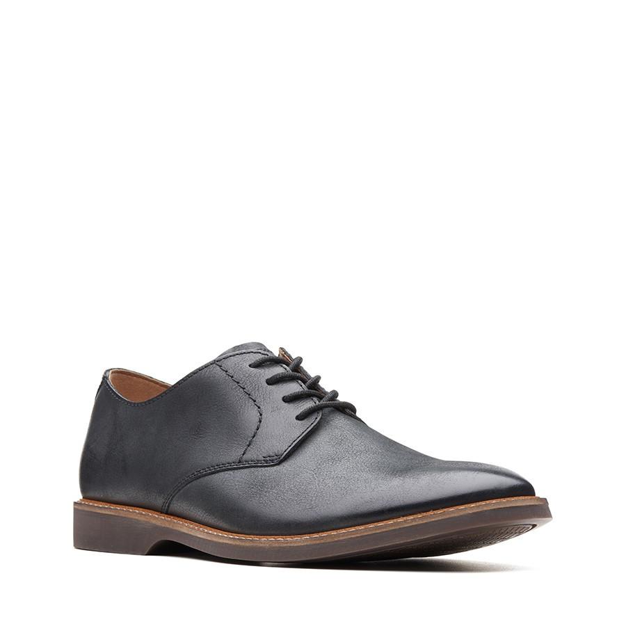 Clarks Atticus Lace Black Leather