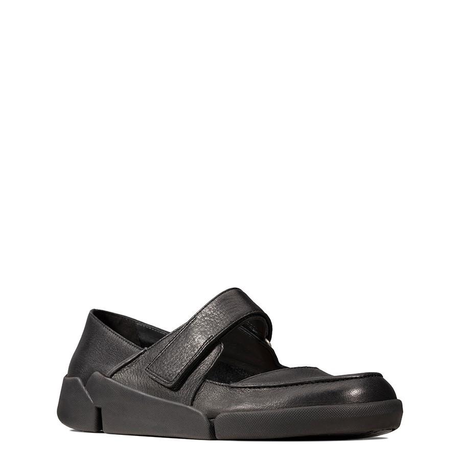 Clarks Tri Jasmine Black Leather