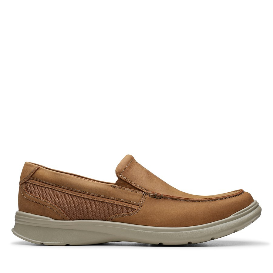 Clarks Cotrell Easy Tan Combo