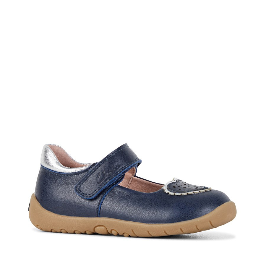 Clarks Sally Navy