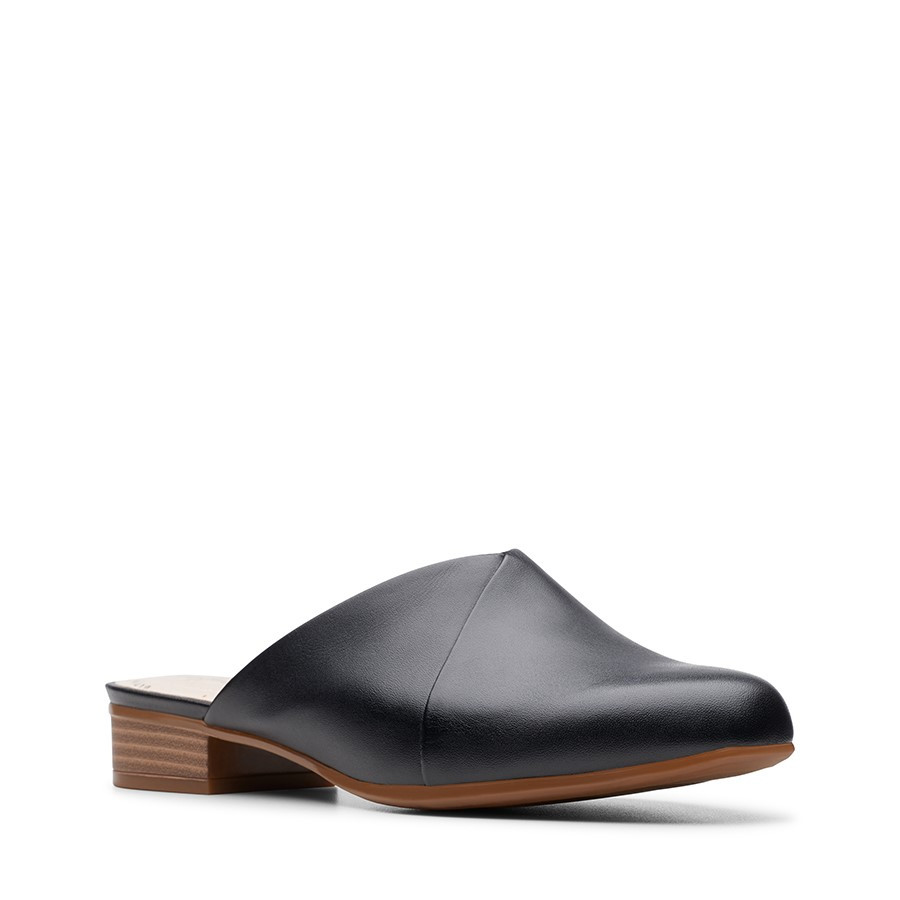 Clarks Juliet Willow Black Leather