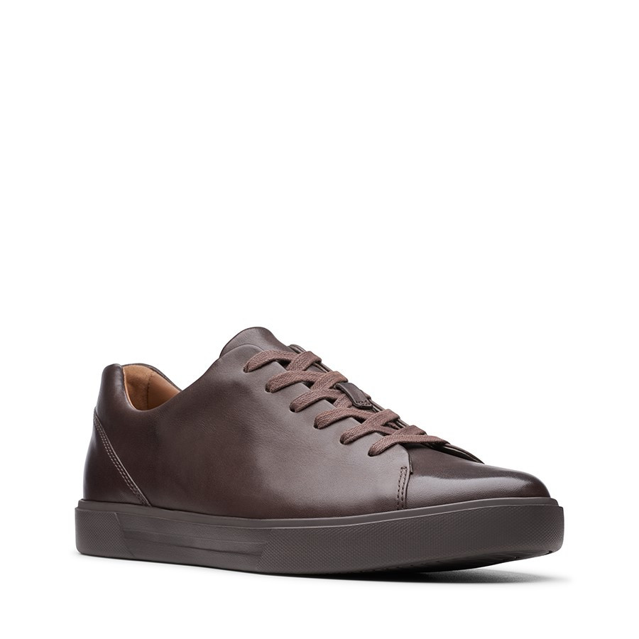 Clarks Un Costa Lace Brown Leather