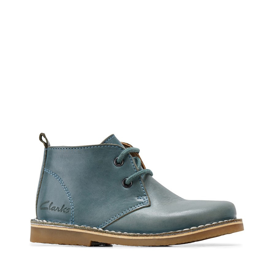 Clarks Victor Jnr Hunter Green