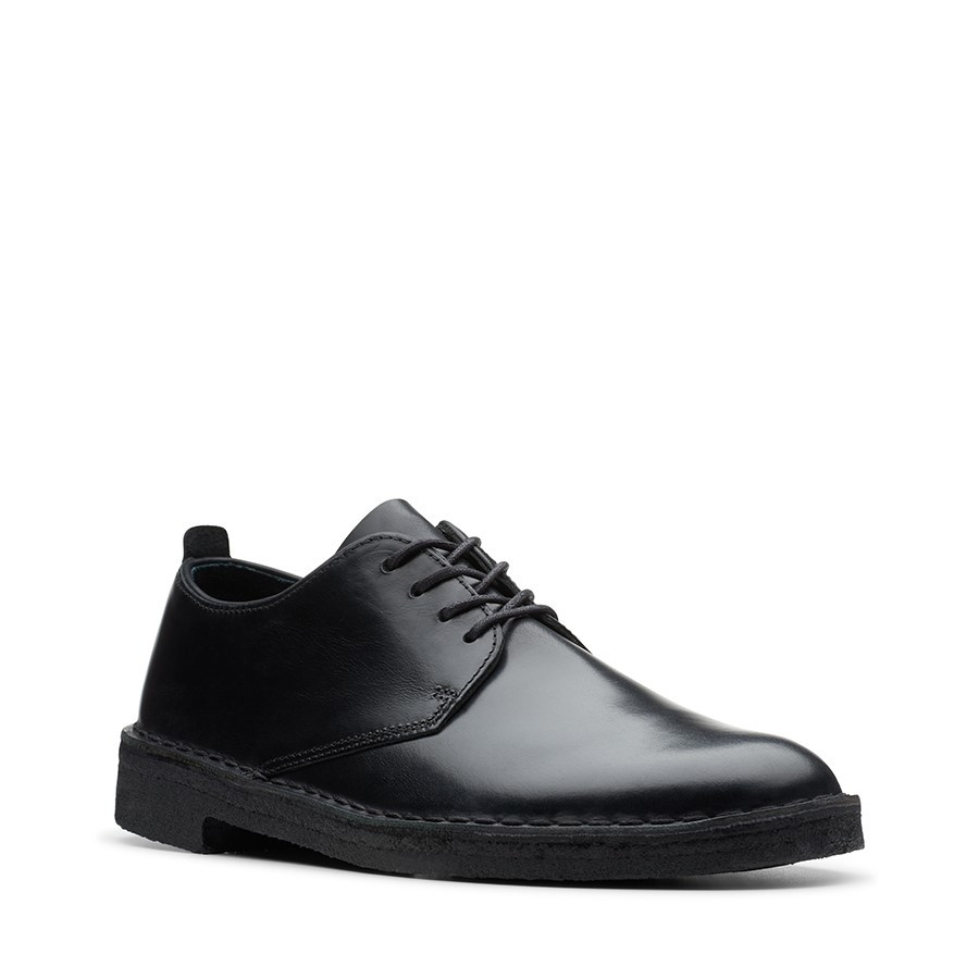 Clarks Desert London 2 Black Leather