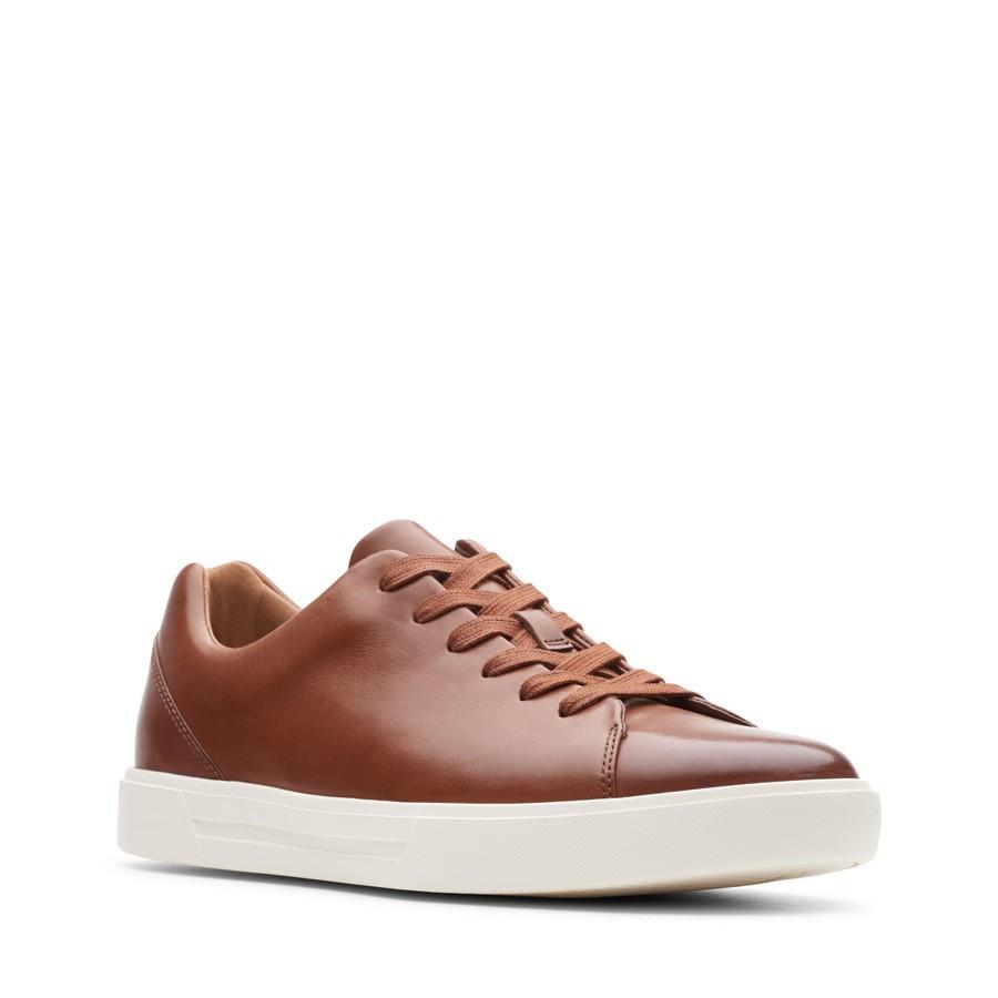 Clarks Un Costa Lace British Tan Leather