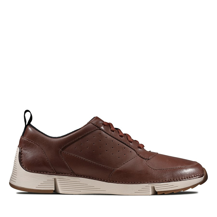 Clarks Tri Sprint British Tan Leather