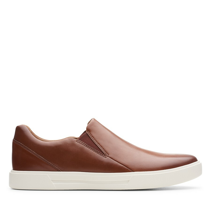 Clarks Un Costa Step British Tan Leather