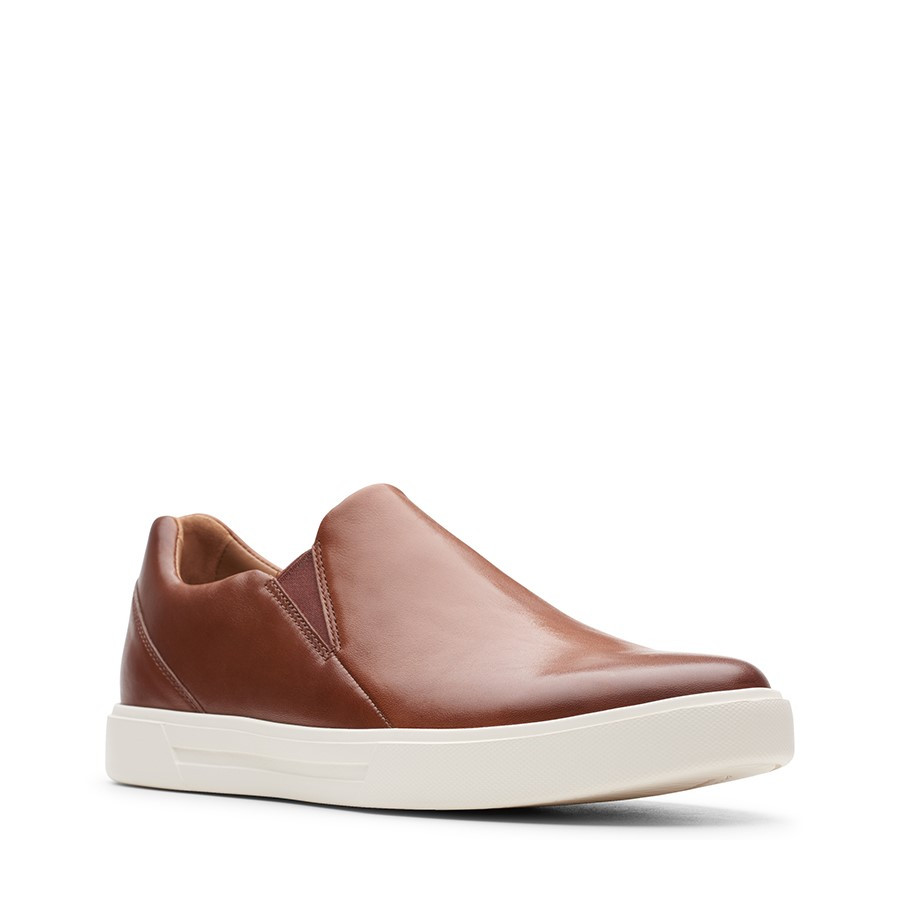 Clarks Un Costa Step British Tan Leather