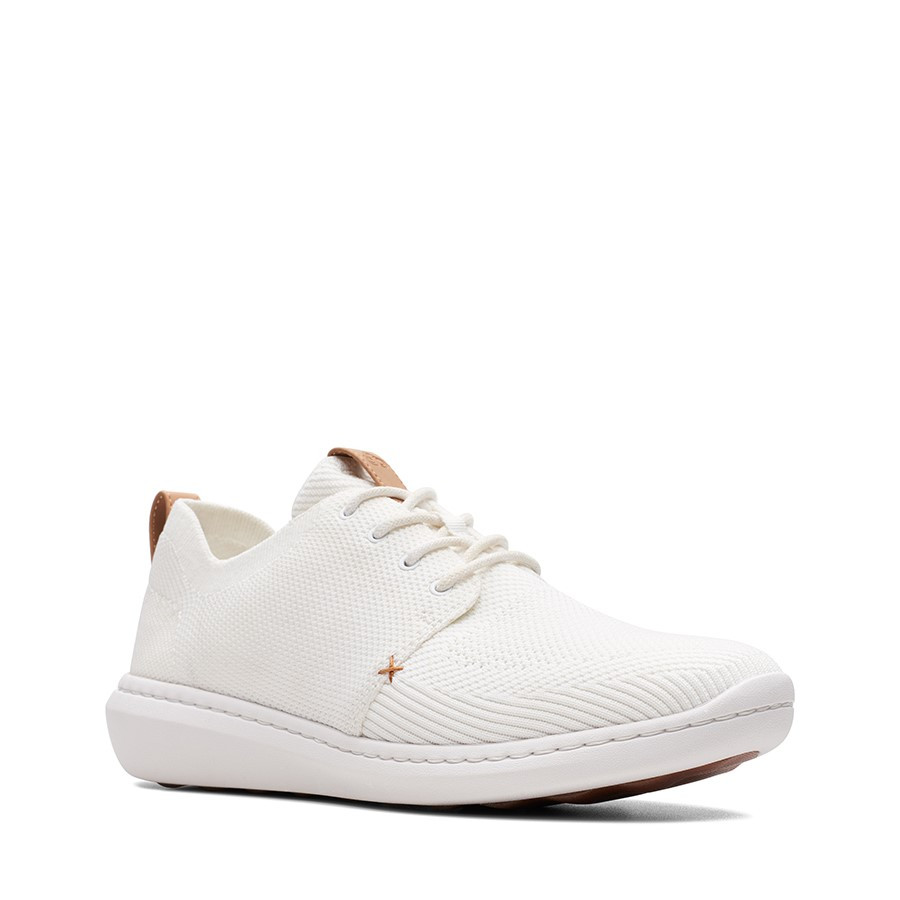 Clarks Step Urban Mix White