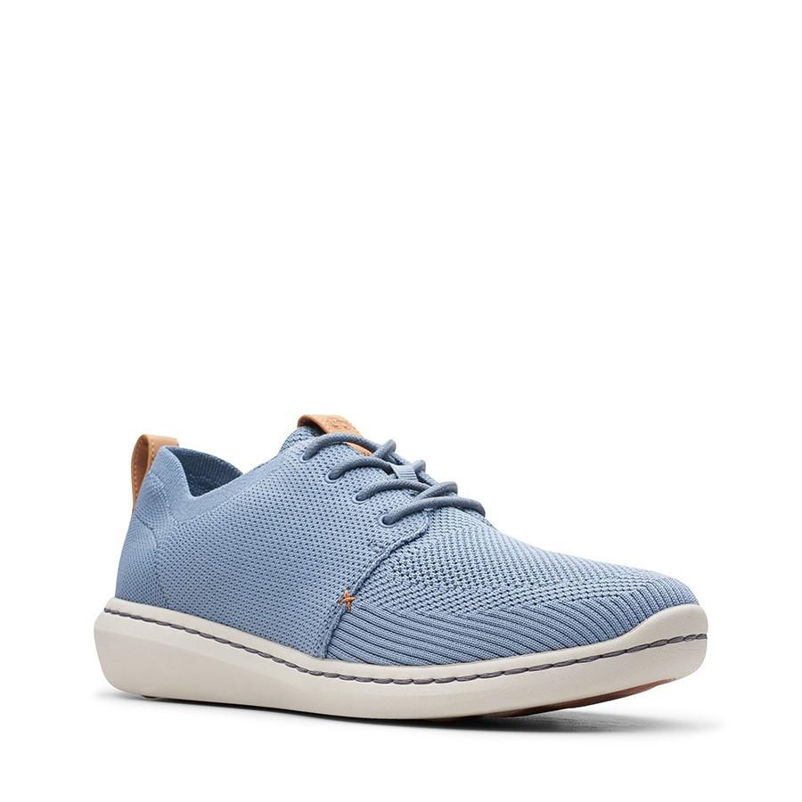 Clarks Step Urban Mix Blue Grey Textile