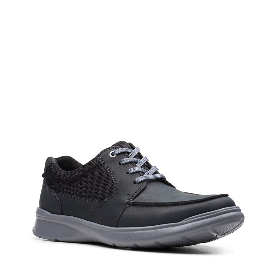 Clarks Cotrell Lane Black Combo Leather