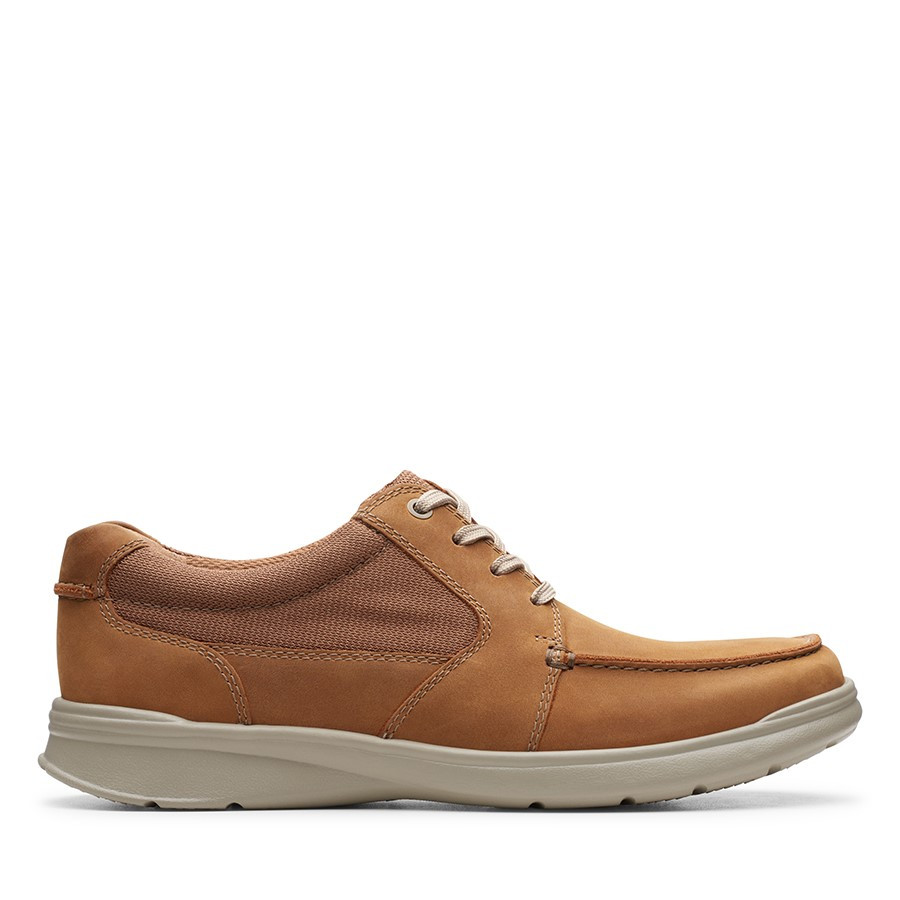 Clarks Cotrell Lane Tan Combo Leather