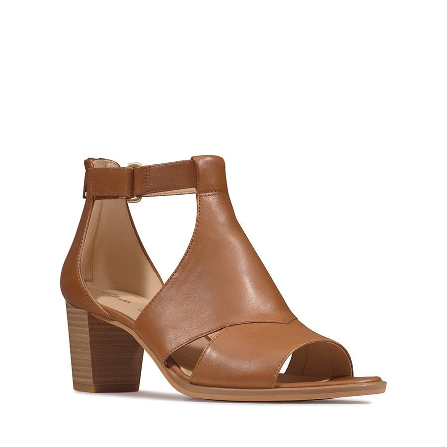 Clarks Kaylin60 Glad Tan Leather
