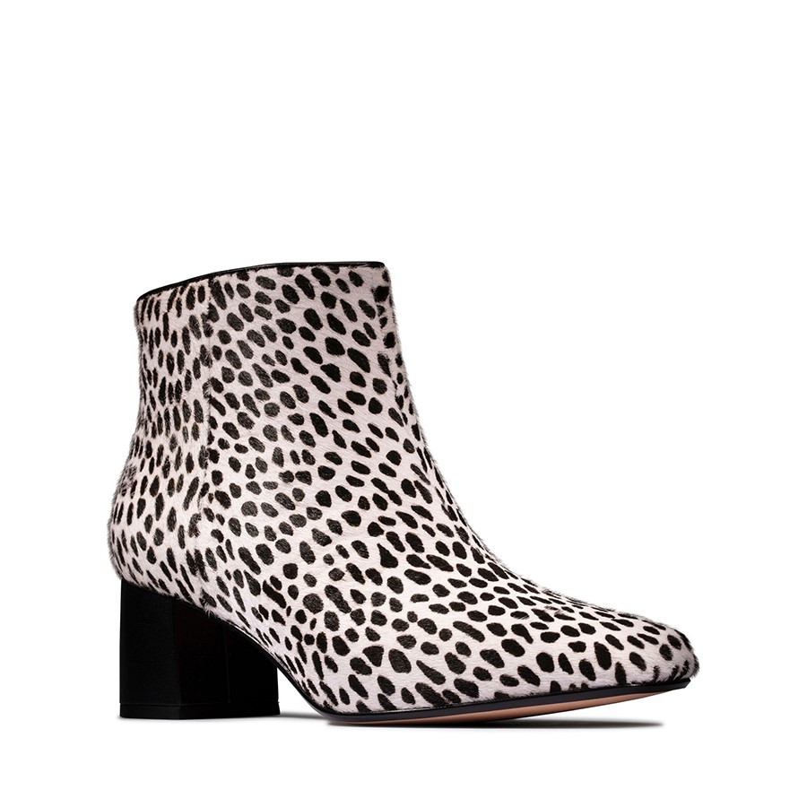 Clarks Sheer Flora 2 Dalmation Animal Print