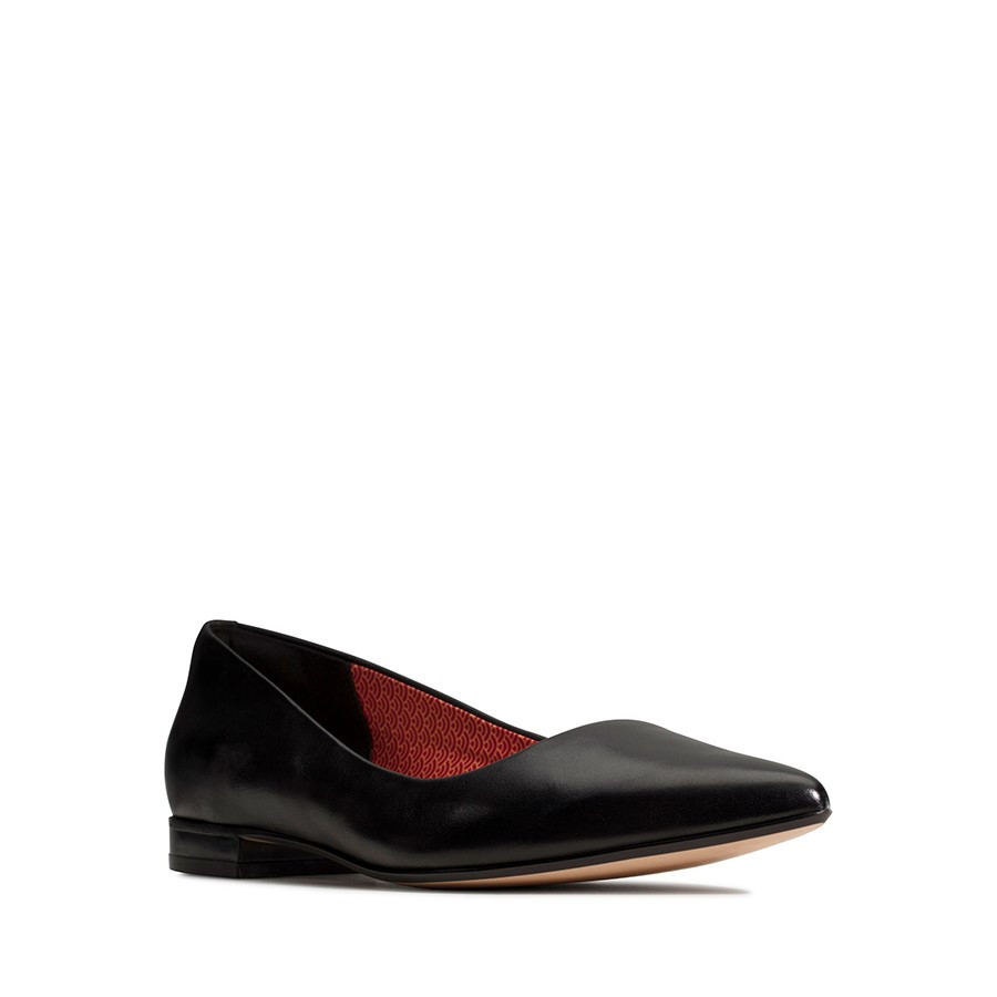 Clarks Laina15 Pump Black Leather