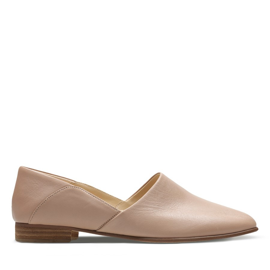 Clarks Pure Tone Nude Leather