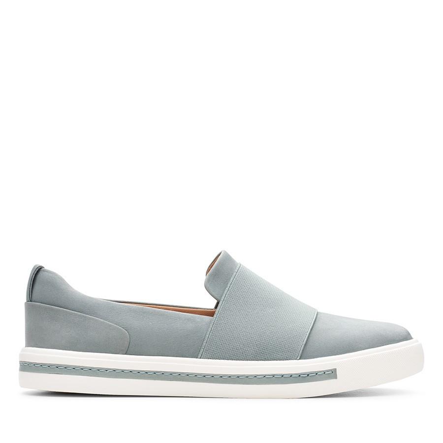 Clarks Un Maui Step Blue Grey