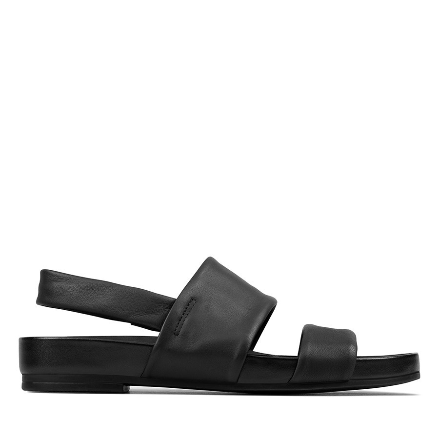 Clarks Pure Strap Black Leather