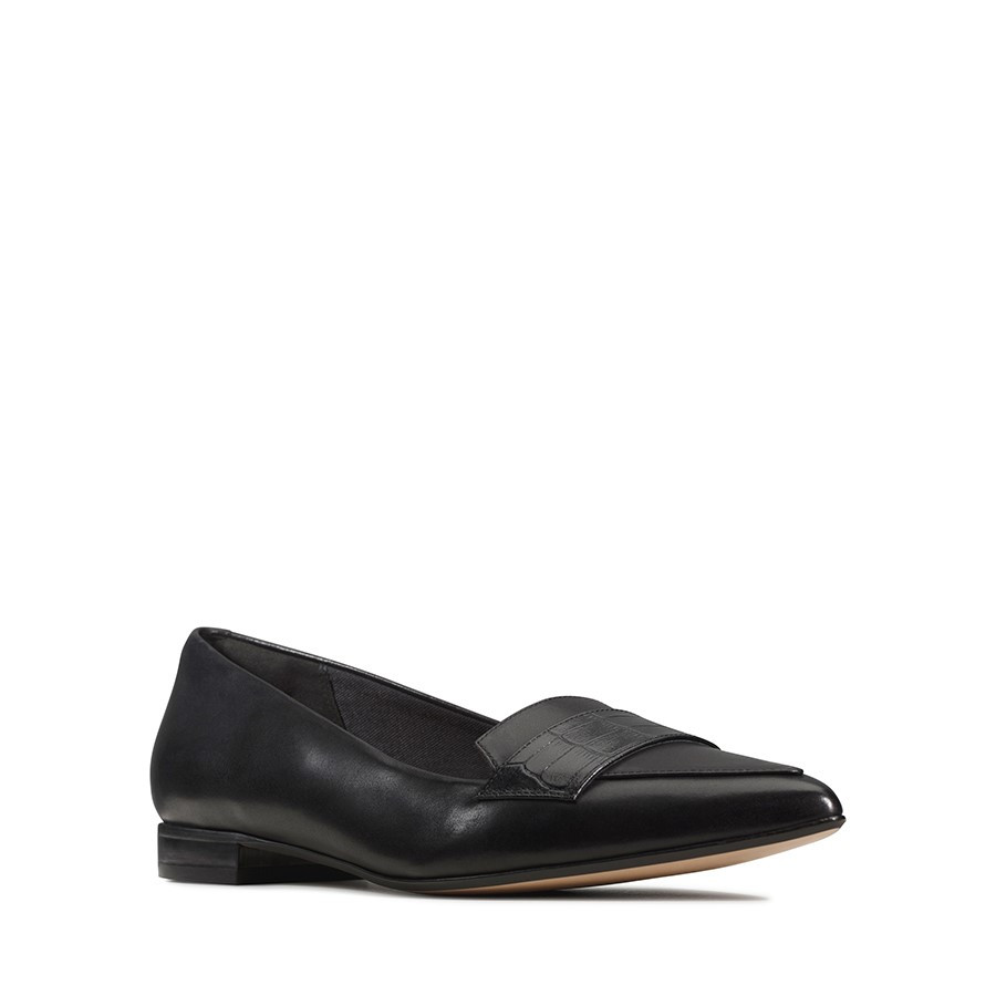 Clarks Laina15 Loafer Black Combo